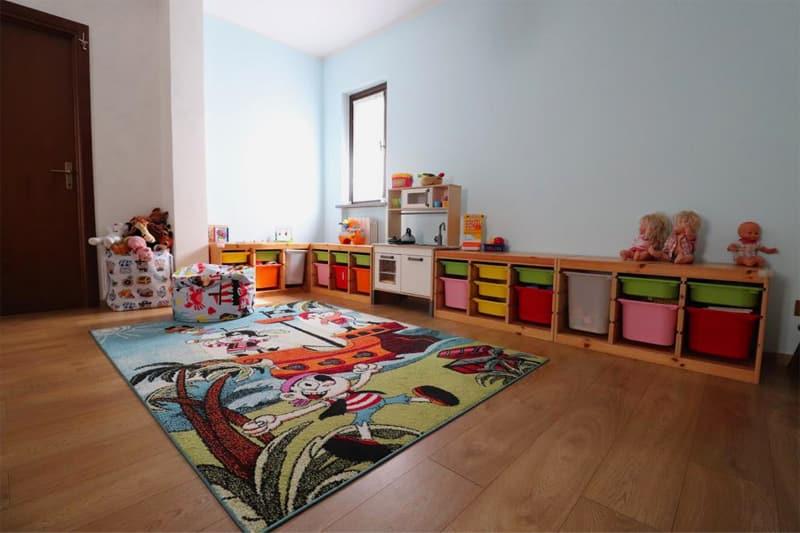 Spazio interno dell'area giochi dell'asilo nido di Albairate